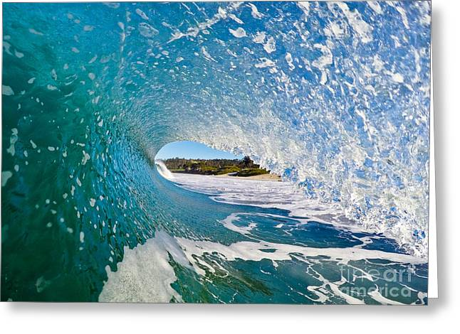 Greeting Card featuring the photograph Carmel Blues by Paul Topp