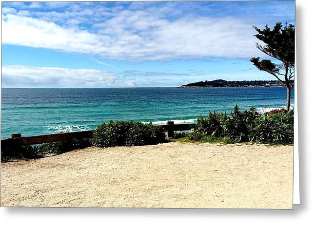 Carmel By The Sea Greeting Card