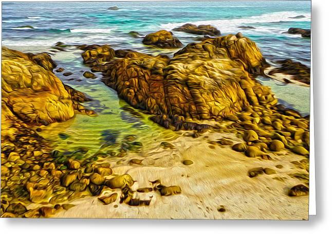 Carmel California - 07 Greeting Card by Gregory Dyer
