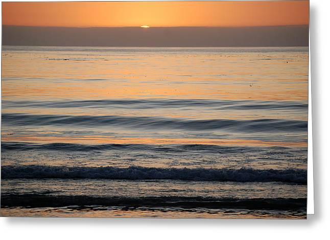 Carmel Sunset Greeting Card