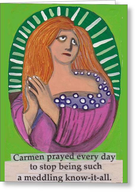 Carmen Greeting Card