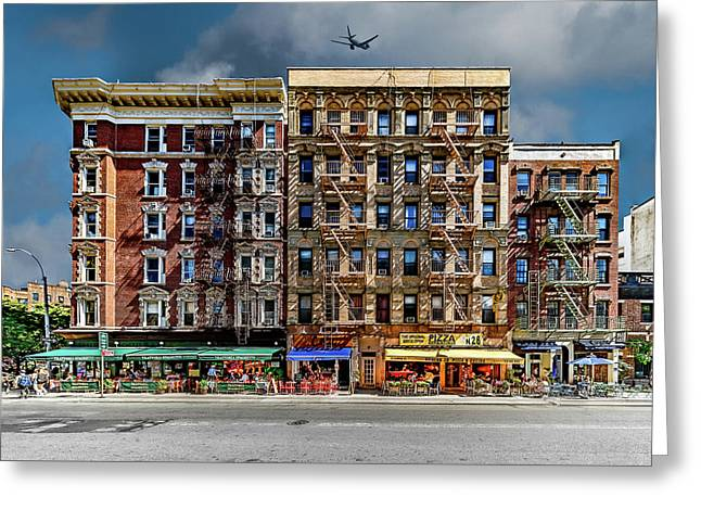 Greeting Card featuring the photograph Carmine Street by Chris Lord