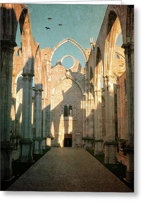 Carmo Ruins In Lisbon Greeting Card