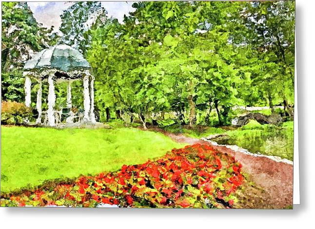 Carnegie Center In Princeton New Jersey Greeting Card