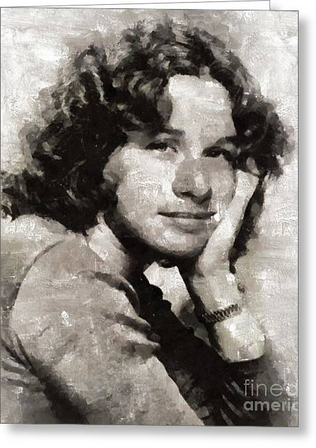 Carole King, Singer Greeting Card