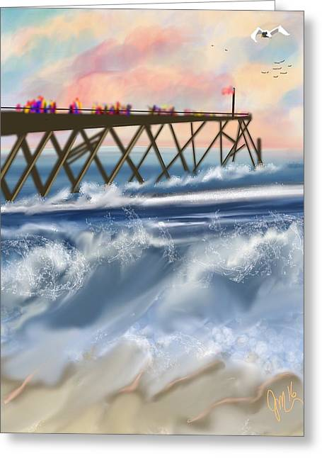 Carolina Beach Greeting Card