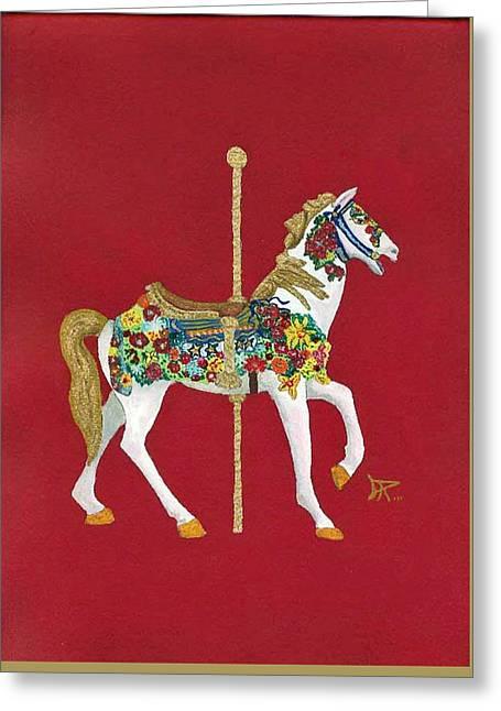 Carousel Horse #2 Greeting Card