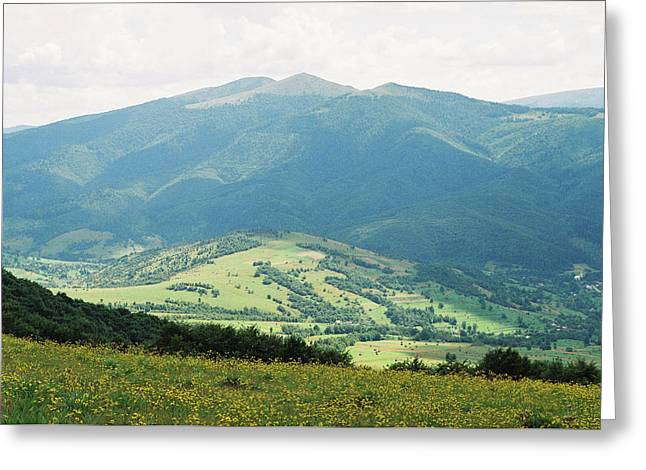 Carpatian Mountains 4 Greeting Card