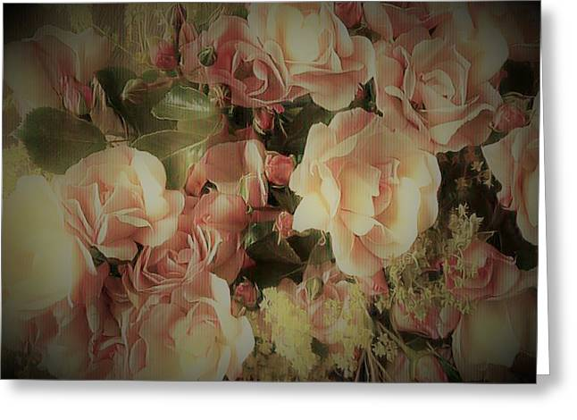 Carpet Rose Greeting Card