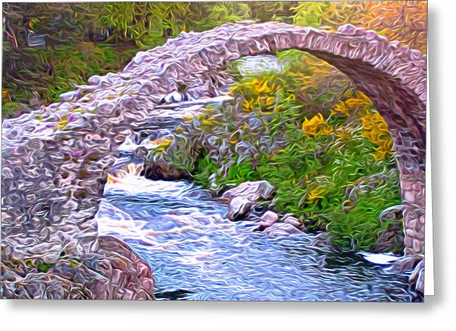Carrbridge Greeting Card by Bruce