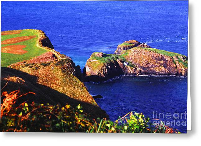 Carrick-a-rede Greeting Card