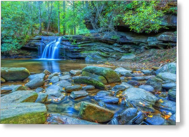 Carrick Creek 4 Greeting Card by Gestalt Imagery