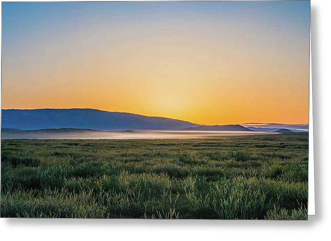 Carrizo Plain Greeting Card