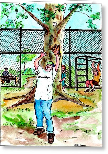 Carroll Park Was A Favorite Playground For The Neighborhood Kids Greeting Card