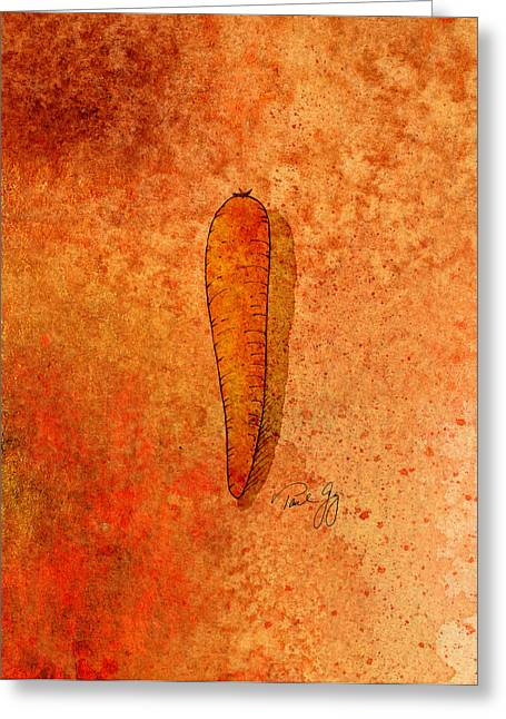 Carrot Greeting Card