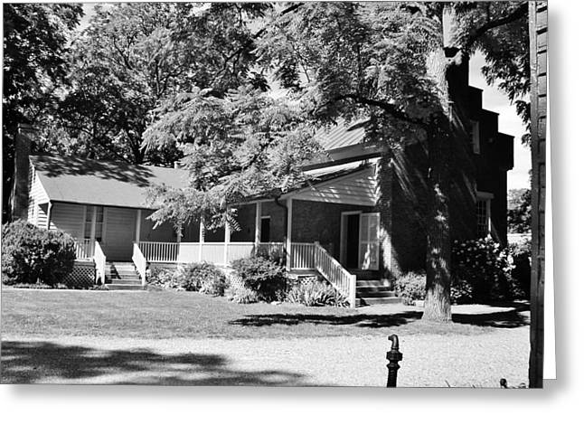 Carter Estate In Franklin Greeting Card by Peggy Leyva Conley