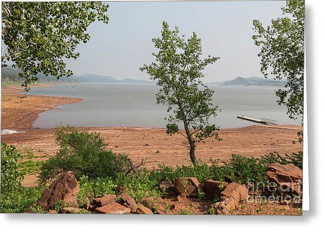 Greeting Card featuring the photograph Carter Lake South Shore View by James BO Insogna