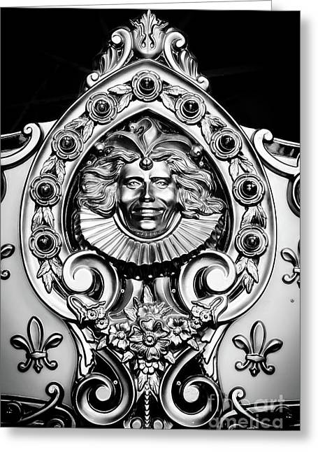 Carved Carousel Figurehead Greeting Card