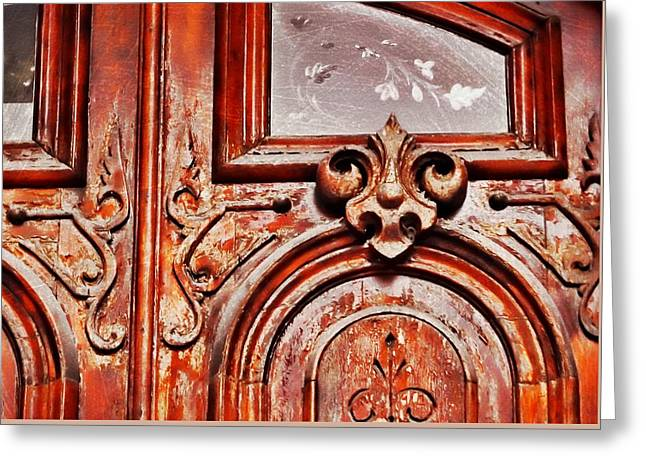Carved Entry Greeting Card by JAMART Photography