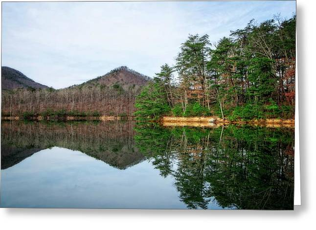 Greeting Card featuring the photograph Carvins Cove  by Alan Raasch
