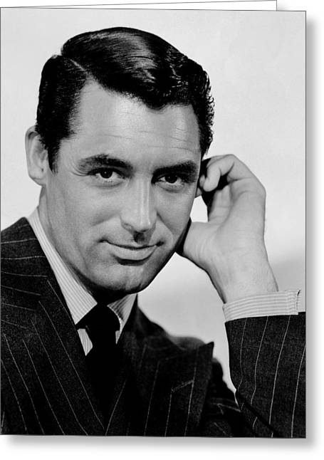 Cary Grant  Greeting Card by Georgia Fowler