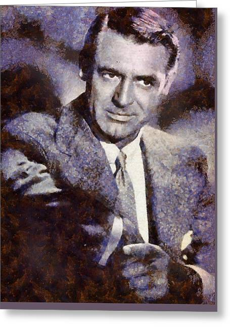 Cary Grant Hollywood Actor Greeting Card
