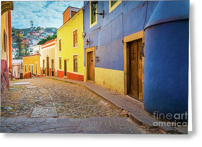 Casa Azul Greeting Card by Inge Johnsson