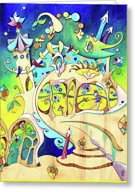 Casa Batllo - Antoni Gaudi Barcelona Greeting Card by Arte Venezia