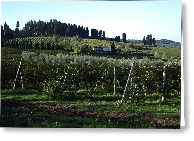 Casa Bella Tuscany Greeting Card