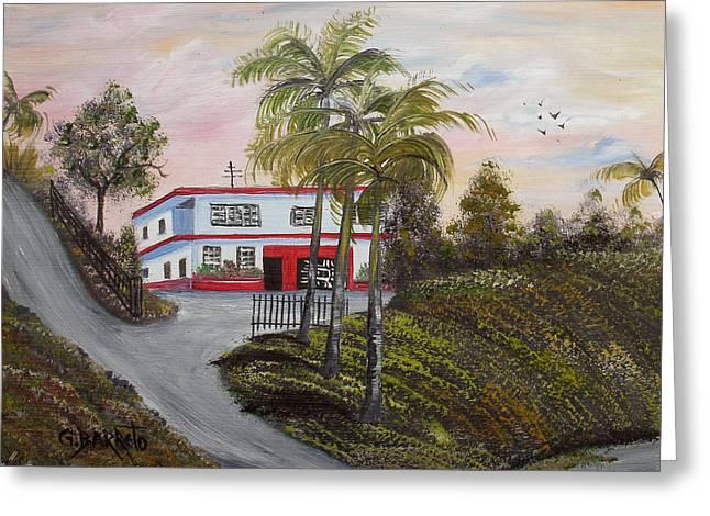 Casa En Montanas De Cerro Gordo Greeting Card