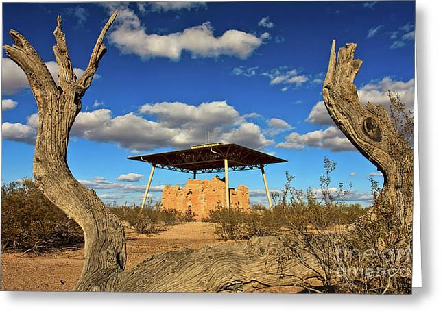 Casa Grande Ruins National Monument Greeting Card