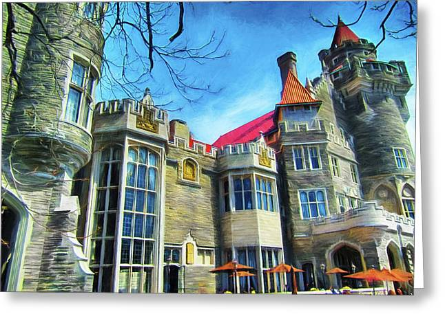 Casa Loma Series 2 Painted Y1 Greeting Card