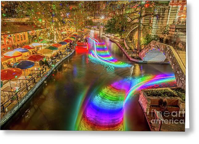 Casa Rio Rainbow Greeting Card