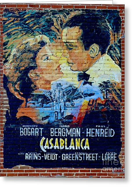 Casablanca Mural 2013 Greeting Card