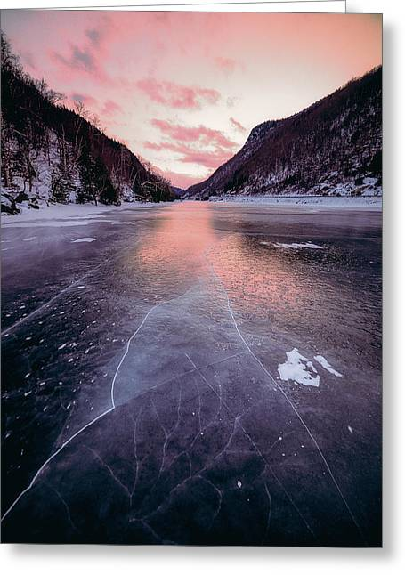 Cascade Ice Greeting Card