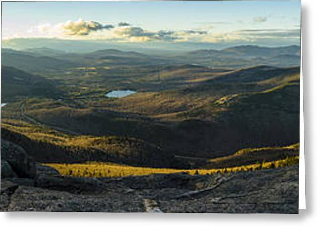 Cascade Mountain Sunset Greeting Card