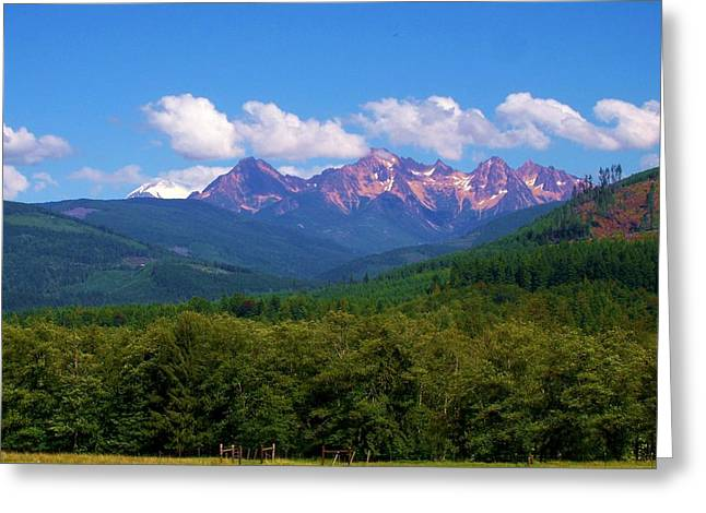 Cascade Sisters Greeting Card