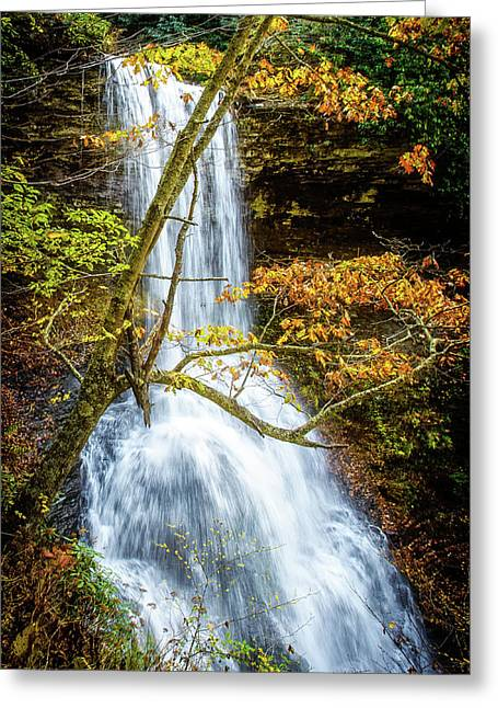 Cascades Deck View Greeting Card