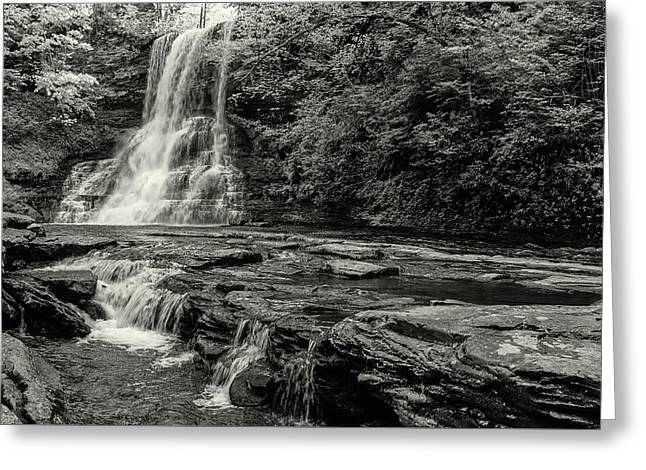 Cascades Waterfall Greeting Card