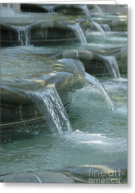 Cascading Fountain Greeting Card