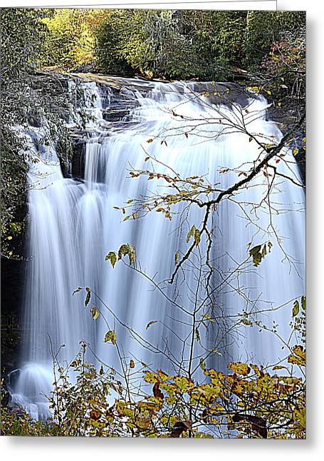 Cascading Water Fall Greeting Card
