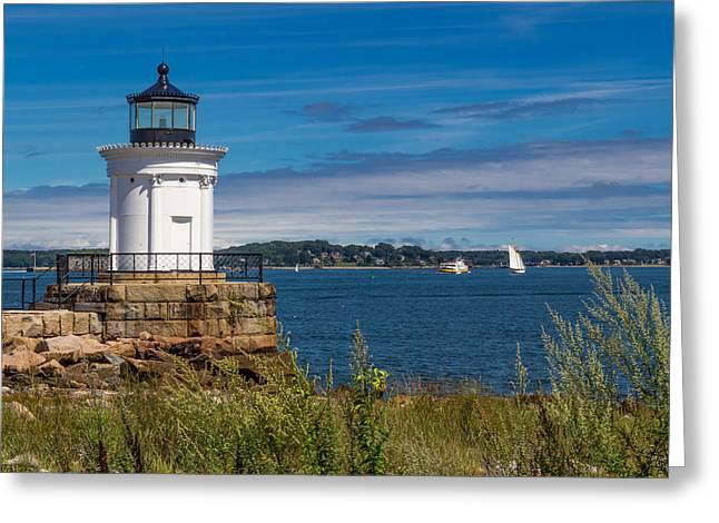 Casco Bay Afternoon Greeting Card