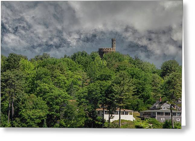 Greeting Card featuring the photograph Casco Castle 5733 by Guy Whiteley