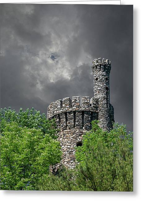 Greeting Card featuring the photograph Casco Castle by Guy Whiteley