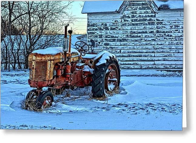 Case 400 Greeting Card by Bonfire Photography