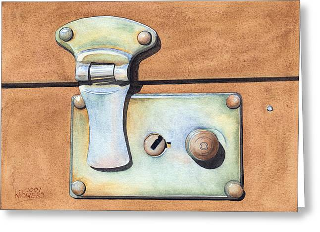 Case Latch Greeting Card