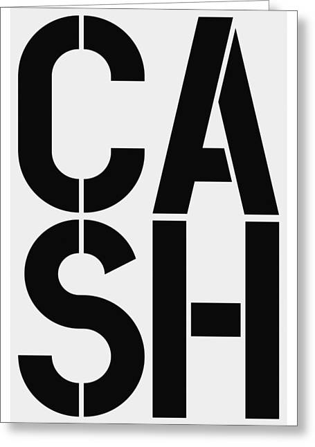 Cash Greeting Card by Three Dots