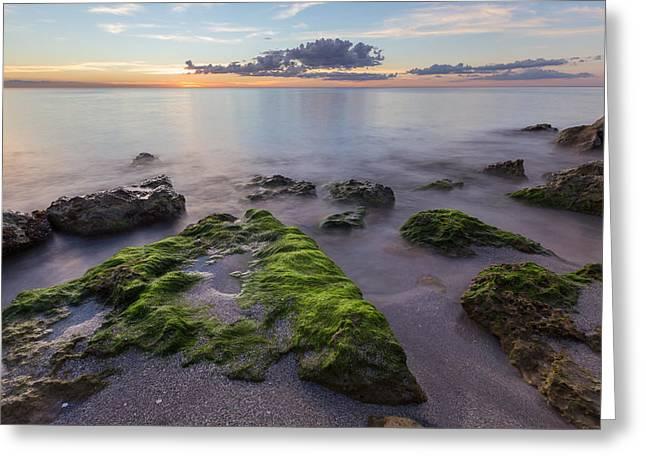 Caspersen Beach Sunset Greeting Card