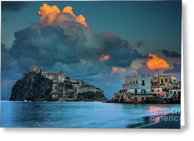 Castello Aragonese Greeting Card