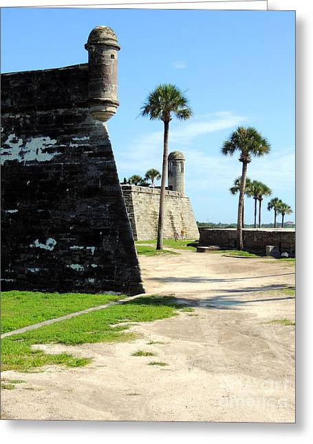 Castillo De San Marcos St Augustine Florida Greeting Card by Bill Holkham